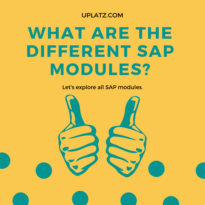 What are the different SAP modules? | Uplatz Blog
