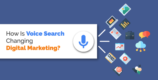 Impact of Voice Search in Digital marketing