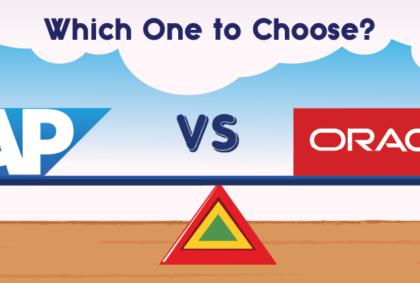 SAP, ORACLE, SAP vs ORACLE, Best option SAP or ORACLE.