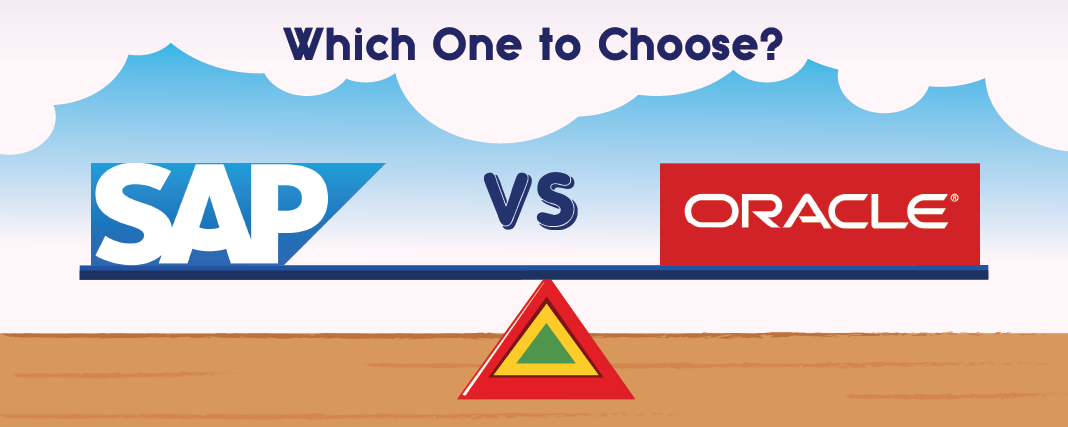 SAP, ORACLE, SAP vs ORACLE, Best option SAP or ORACLE.