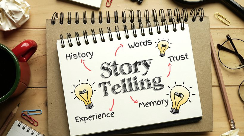 tell story about your business, Businessstory, Story telling