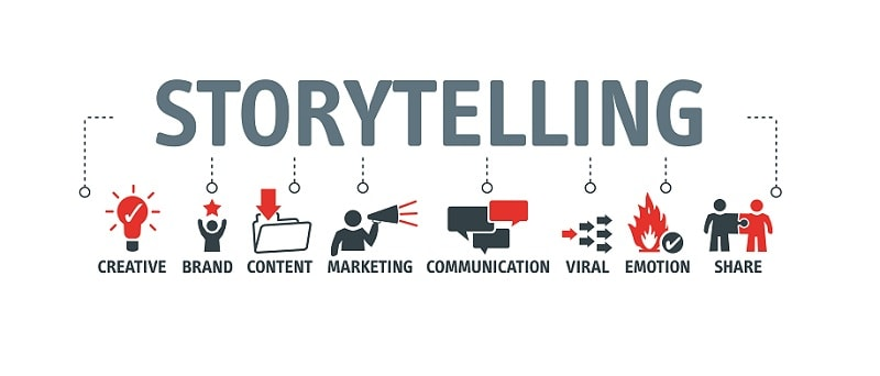 Storytelling, brand connect